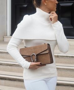 #Guccihandbags Outfits Otoño, Trendy Outfits, Cool Outfits, Cozy Winter Fashion, Autumn Fashion, Classy Outfits For Women, Clothes For Women, Classy Casual, Couture Fashion
