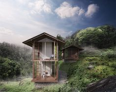 carlo ratti has conceived the pankhasari retreat, a digitally connected environment in the indian himalayas that aims to promote sustainable tourism.