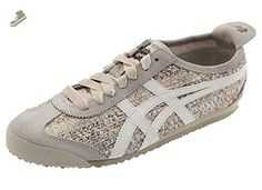 Onitsuka Tiger by Asics Women's Mexico 66? Off-White/Slight White Sneaker 11.5 B (M) - Onitsuka tiger sneakers for women (*Amazon Partner-Link)
