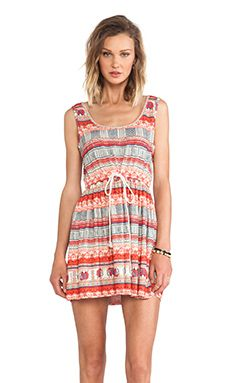 MINKPINK Elephant Journey Dress en Multi