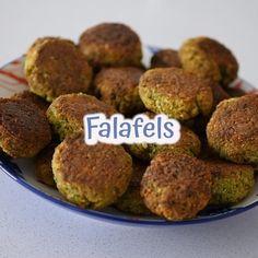 Vegan Recipes Videos, Good Healthy Recipes, Raw Food Recipes, Veggie Recipes, Indian Food Recipes, Cooking Recipes, Best Falafel Recipe, Healthy Protein Breakfast, Manger Healthy