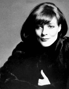 Young Maggie Smith--the Dowager Countess years ago.