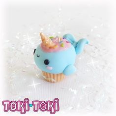 ♥ This cute Narwhal ate so much cupcake that it became one! You can choose it to be a mobile charm, dustplug or necklace!  ♥ Every piece of my work is completely handmade with love and attention to details. You will never find two items that will ever be exact, so each piece is completely unique and special!  ♥ Please note that polymer clay can be delicate in nature, gentle use is recommended.  ♥ This item is Ready Stock.  ♥ This item ships from Dominican Republic, so it will take 10-15…