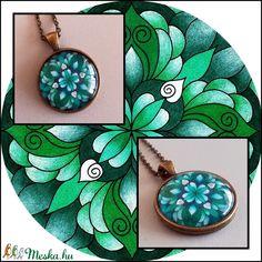 Mandalás nyaklánc (kedo) - Meska.hu Washer Necklace, Jewelry, Mandalas, Jewlery, Bijoux, Jewerly, Jewelery, Jewels, Accessories