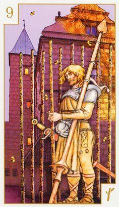 Tarot of Prague ► Nine of Wands