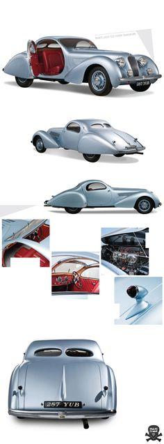 Talbot Lago T23 Coupe Teardrops