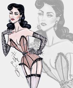 Dita Von Teese by Hayden Williams