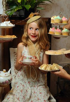 Children's Tea Parties : Betty Blythe