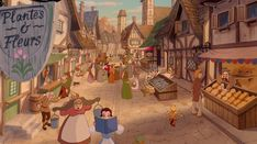 beauty and the beast village - Google Search