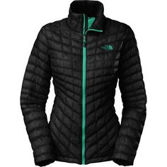 The North Face ThermoBall Insulated Jacket - Women'sTNF Black/Kokomo Green