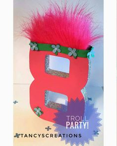 Hey, I found this really awesome Etsy listing at https://www.etsy.com/listing/515639367/troll-themed-birthday-party-troll-hair