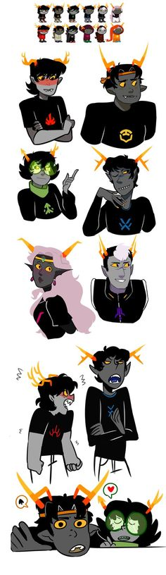 VOLTRON [HOMESTUCK AU] by KitsuneZakuro on DeviantArt<<< i dont read homestuck but this is cute