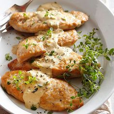 This tasty Chicken Dijonnaise takes just 30 minutes from start to finish. More inexpensive chicken dinners: http://www.bhg.com/recipes/chicken/baked/cheap-chicken-dinners/?socsrc=bhgpin051413chickendijonnaise=6