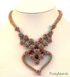 "Бисера ожерелье ""Lady Мальвазия"" - Дизайн PrettyNett.de"
