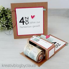 Stampin Up, Goodies, Place Card Holders, Blog, Birthday, Cards, Creative Depot, Instagram, Penny Black