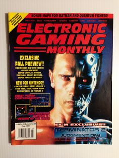 Nostalgic & Epic Video Game Magazine Cover Art & Vintage Design Print Ads From The Past - Geek Inspiration Vintage Video Games, Classic Video Games, Vintage Videos, Video Game Magazines, Gaming Magazines, Epic Games, Funny Games, Castlevania Games, Star Force
