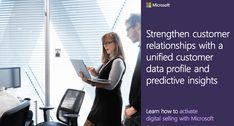 Refine your digital buying experience with #Microsoft #AI customer insights to reduce costs, manage leads, and efficiently adjust to fluctuations in demand. Subscribe now to learn more. Customer Insight, Microsoft, Learning, Digital, Studying, Teaching, Education