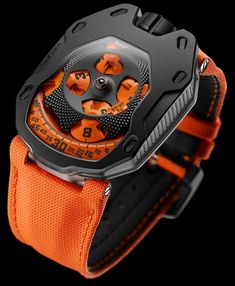 Urwerk TA 'Turbine Automatic' Watches In Fancy Colors - by Ariel Adams -… - admin Sport Watches, Cool Watches, Fine Watches, Latest Watches, Knights Watch, Design Blog, Luxury Watches For Men, Mechanical Watch, Beautiful Watches