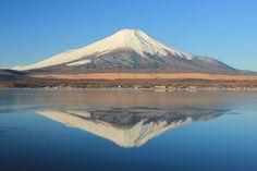 Upside down Fuji