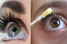 5 Simple Tricks to Make You Lashes Longer in Just a WeekThe cosmetics department wouldn't be hole without some wonderful mascara and nice long eyelashes. There are different types of eyelashes and different. How To Grow Eyelashes, Longer Eyelashes, Long Lashes, Mascara Tips, Tips Belleza, Beauty Recipe, Grow Hair, Beautiful Eyes, Eyebrows