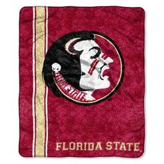 Florida State Seminoles NCAA Sherpa Throw (Jersey Series) (50in x 60in)