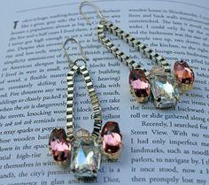 Swarovski Crystal Drop Earrings | AllFreeJewelryMaking.com