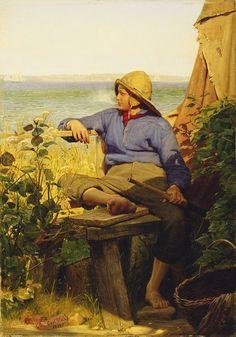 Carl Bloch - The Sailor (1874).jpg