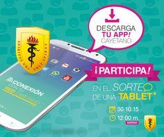 #Herediano, ¿ya te descargaste tu app Cayetano? Disfruta de los beneficios y participa en el sorteo de una tablet.