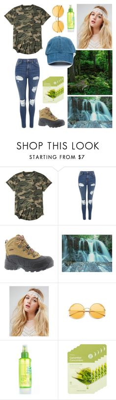 """""""Nature"""" by salute-rock ❤ liked on Polyvore featuring Hollister Co., Topshop, Skechers, ASOS, nature republic and The Face Shop"""