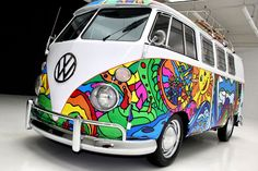 The mighty Kombi van - Sea FM Tasmania Burnie