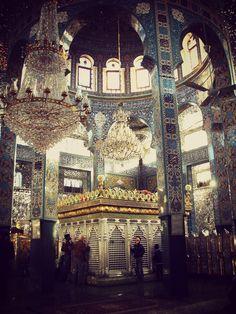 Shrine of Sayyida Zainab (AS) in Damascus, Syria.
