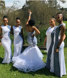 LESOTHO SHWESHWE DRESSES: Seshoeshoe plans in the race for the texture is produced in an assortment of hues and printing outlines described by multifaceted geom African Bridesmaid Dresses, African Wedding Attire, Bridesmaid Dresses 2018, African Attire, African Dress, Bridal Dresses, Wedding Gowns, African Weddings, Xhosa Attire