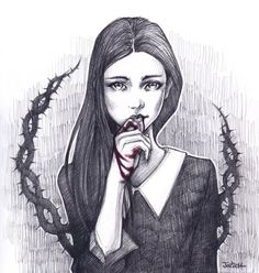 Blood on these hands by sashajoe on DeviantArt . Character Sketch / Drawing