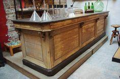 Ancien comptoir de café - Début XXème - par le Marchand d'Oublis