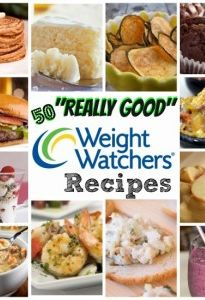 "Here are some of the ""BEST"" Weight Watchers Recipes out there! 50 of them! #Recipes #WeightWatchers"