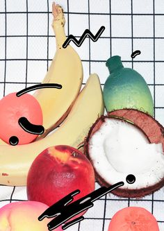 art direction | food collage - Dom Sebastian