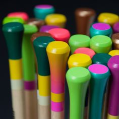 Color up your life - with the new knit affair knitting needles! www.myknitaffair.com