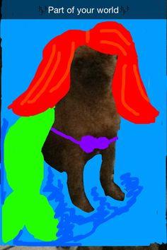 Under the sea dog snapchat