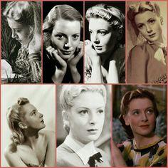 Deborah Kerr's hair style early years