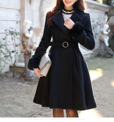 Korean Outfits, Korean Clothes, Asian Beauty, Black Beauty, Korean Women, Korean Fashion, Winter Fashion, Autumn Coat, Shopping Mall