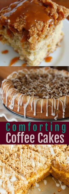 Comforting Coffee Cake Recipes Perfect for Breakfast or Holiday Brunch!