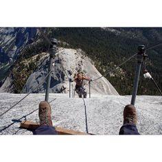 Climbing Half Dome. On the top of my bucket list! <3