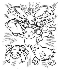 pokemon coloring pages for adults - Google Search