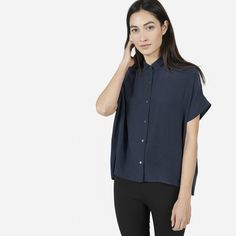 I own this top and I love it--a little boxy, but super soft and easy to wear.
