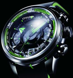 Limited Edition Citizen Eco-Drive Satellite Wave