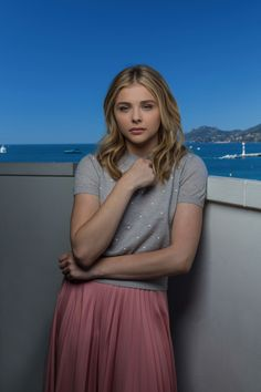 Chloe Moretz Cannes Portraits by Fabrice Dall'Anese and Fabrizio Maltese - HQ image gallery