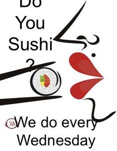 Sushi ad #1