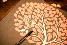 Wedding sign in tree | Barbara Coldiron Photogprahy | villasiena.cc