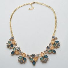 Chain Choker Statement Necklace Women Collier Vintage Maxi Necklace Bib Necklaces Pendants Jewelry
