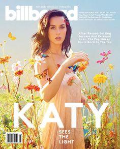 Katy Perry la nueva 'Reina del Pop' según revista 'Billboard'